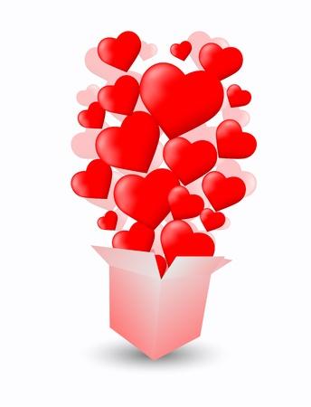 Love Box Stock Vector - 11703659