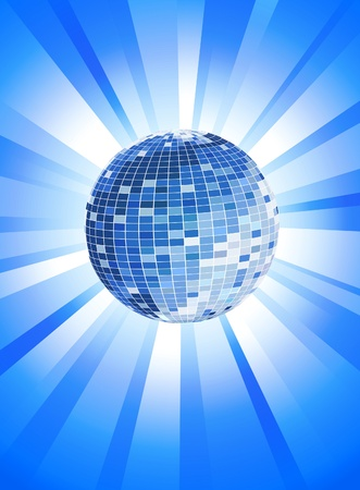 Disco Theme with disco ball