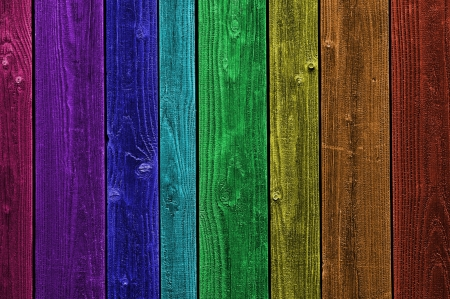 Grunge Colorful Rainbow wood texture photo
