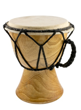 African drum isolated photo