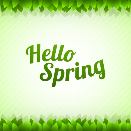 Spring background with stripes Vector