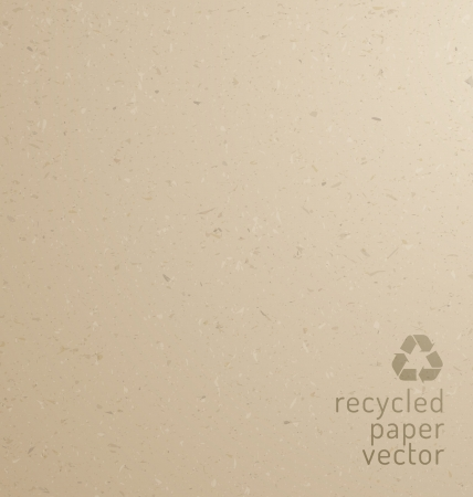 Recycle paper texture - cardboard Vector