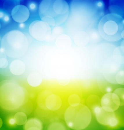 Abstract Blur background with many lights Vector