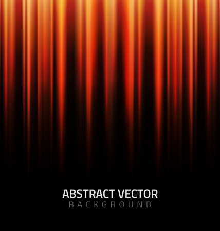 stripped background: Red lights on black abstract background
