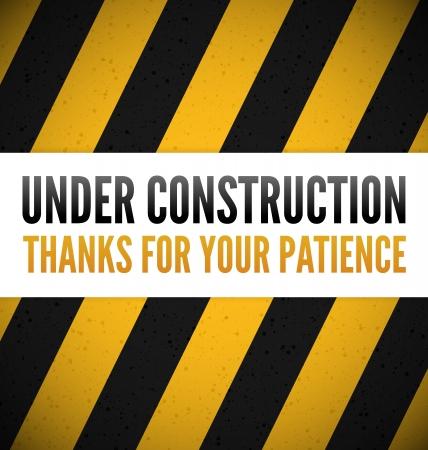 industrial safety: En construcci�n con lugar para el texto
