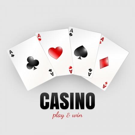 Four aces - casino theme design