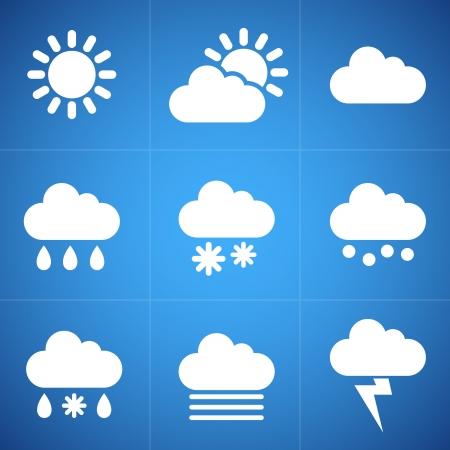 meteorology: Meteorology icons