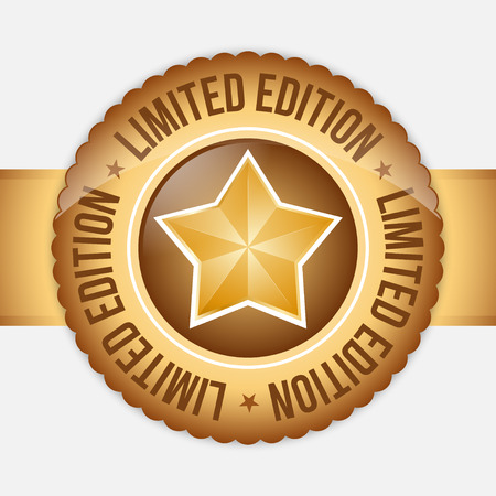 edition: Limited Edition label with gold star