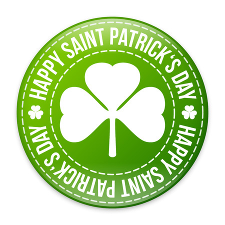 Saint Patricks day design - Shamrock emblem Vector