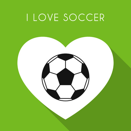 world cup: Love soccer background with ball