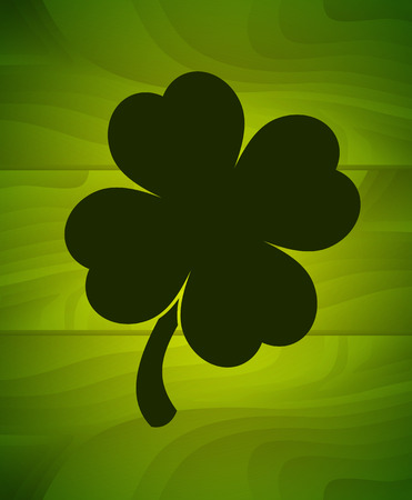 four leaf: Saint Patricks Day. Four leaf clover