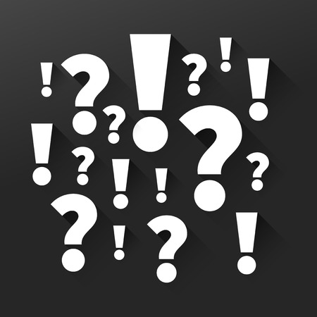 marks: Question and answers, Punctuation marks