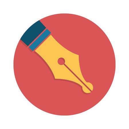 vector symbol: Fountain pen icon, vector symbol