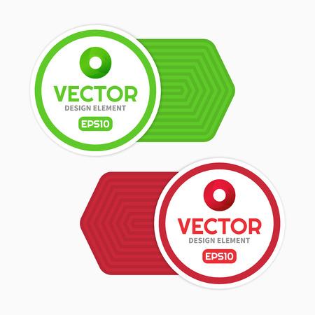 graphic design: Vector label, graphic design template