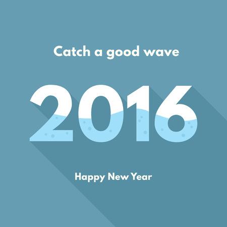 Nuovo anno 2016 - buona onda