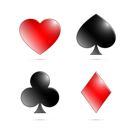 playing card symbols: Playing card symbols, Ace symbols