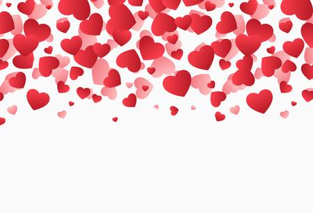 落下の心、バレンタインデー イラスト