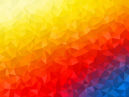 colors background: Abstract background - Colorful Geometrical shapes, Polygonal vector texture - yellow, blue, red colors