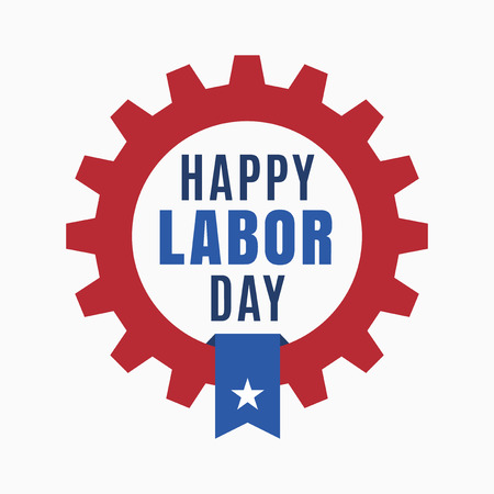 Happy Labor day, Holiday in United States of America celebrated on first monday in September