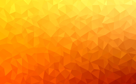 autumn colors: Polygonal mosaic - red, yellow, orange - autumn colors Illustration
