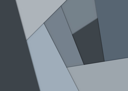 illustration cool: Geometrical background, Cool gray color, vector illustration
