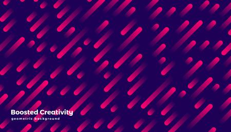 Abstract geometric background, colorful futuristic vector graphic Illusztráció