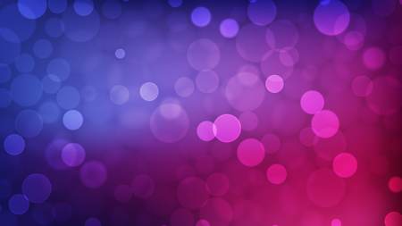 Abstract bokeh background, multicolor defocused lights, vector illustration Illusztráció
