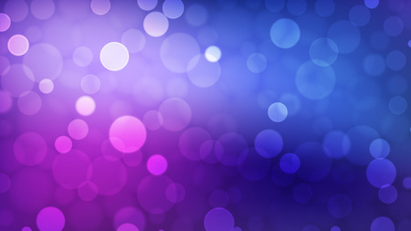 Abstrakter Bokeh-Hintergrund, mehrfarbige defokussierte Lichter, Vektorillustration