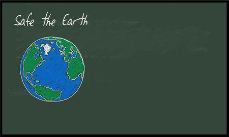 Safe the earth photo