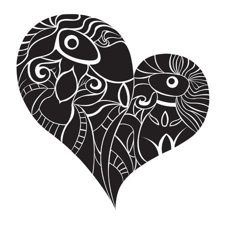 heart pattern 3
