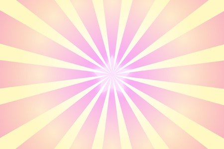 pink radial star background