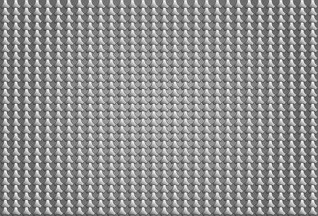 vecter: metal star pattern