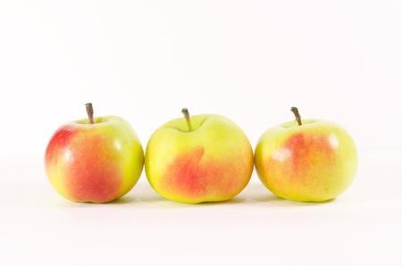 three organic lady apple