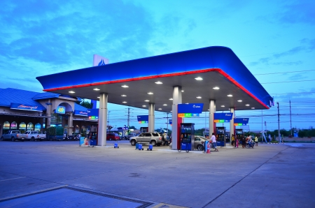 PTT gas station in thailand