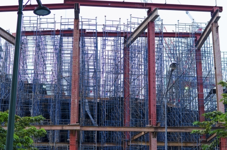 scaffolds: the big many construction scaffolds