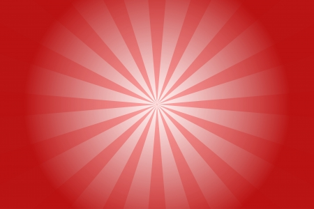 light radial retro red background