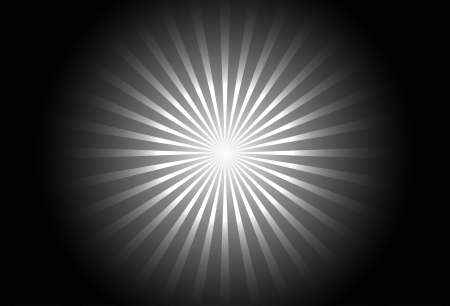 black and white radial small line background
