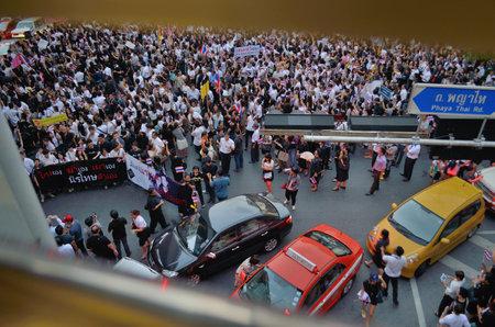 af: Thailand amnesty bill protests in Bangkok