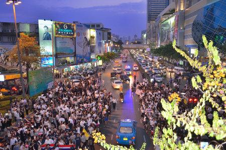 amnesty: Thailand amnesty bill protests in Bangkok