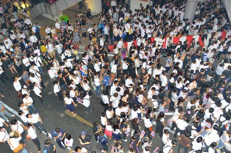 Tailandia protestas ley de amnist�a en Bangkok Editorial