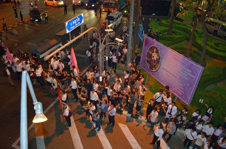 af: Bangkok Tayland af yasa tasarısı protesto