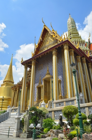 peaceably: temple of the emerald buddha in bangkok thailand (wat phra kaew)