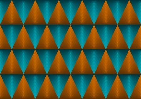 fondo degradado: fondo verde y anaranjado del gradiente tri�ngulo Vectores
