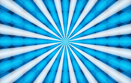 blue and white radial background