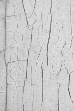 fissure: white fissure wall texture and background Stock Photo