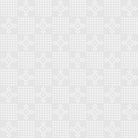 neckerchief: white checked and flower design background or for neckerchief , bandana and scarf print Illustration