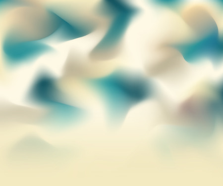waver: abstract cream and green background