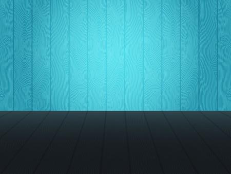 on wood floor: wood wall and floor background