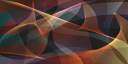 mesh: colorful motion mesh overlap background