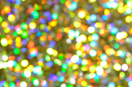 small golden shimmer bokeh background